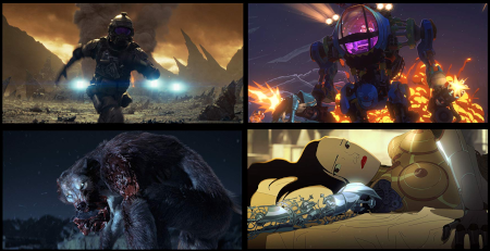 Love Death + Robots (Netflix animated anthology).