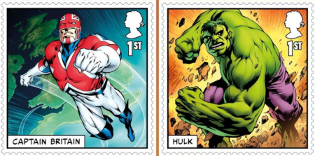 "Royal Mail says ""Hulk: STAMP!"" with new Marvel postage stamps."