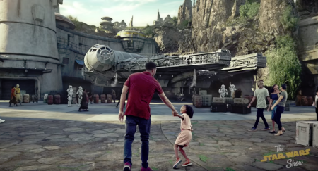 Star Wars Galaxy's Edge Land comes to Disneyland.
