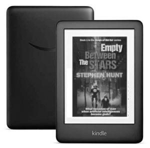 Kindle: new entry-level 2019 model out in April.