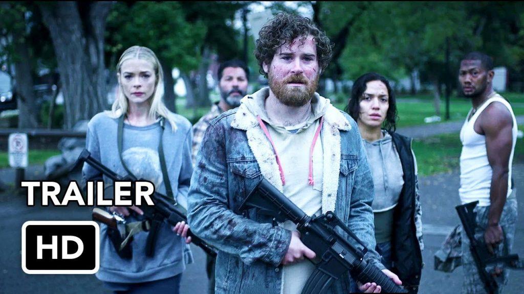 Black Summer: second season (Netflix TV horror series: trailer).
