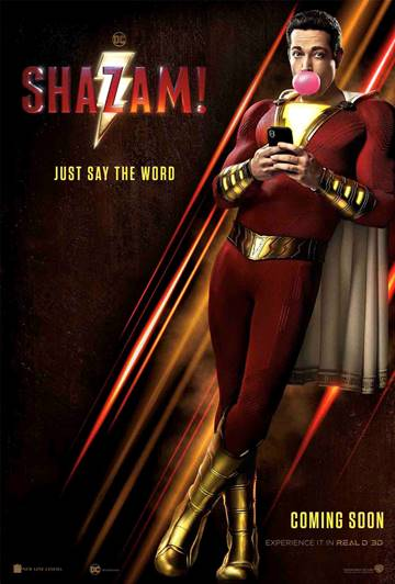 Shazam! (second trailer).