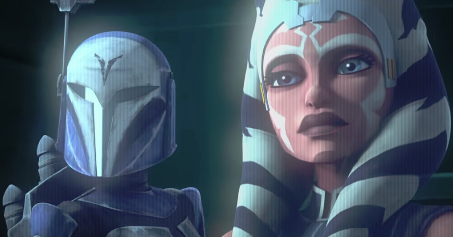 Clone Wars to return (first trailer).