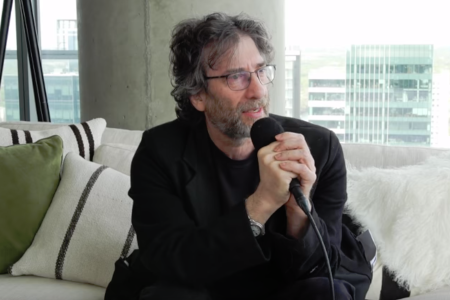 Neil Gaiman (video interview).
