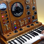 Steampunk music synthesizer (SynTesla: rock me sideways).