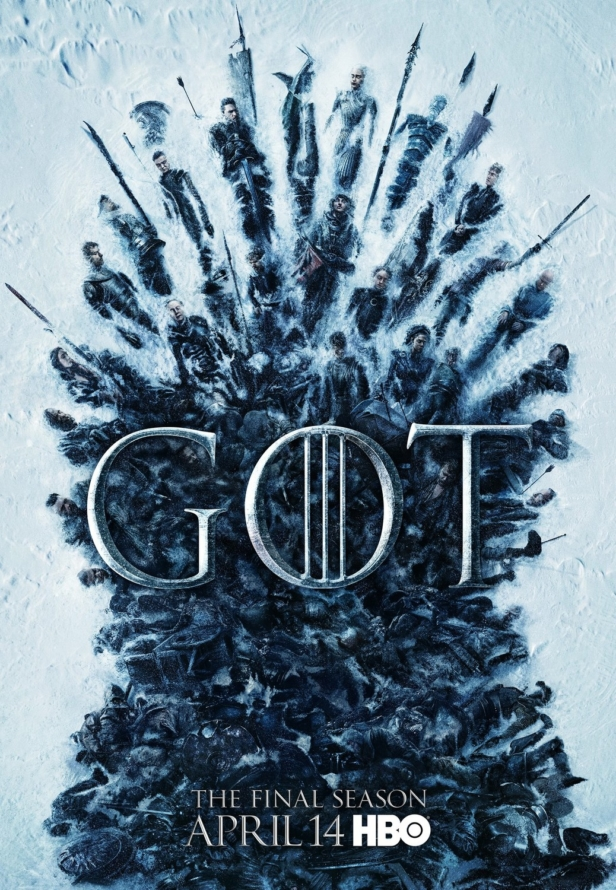 Game of Thrones (last season, last trailer, last body-count).