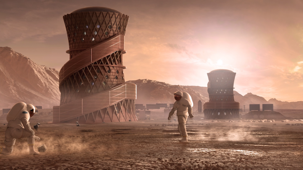 Mars Colony: a million settlers by 2060 (documentary: video).