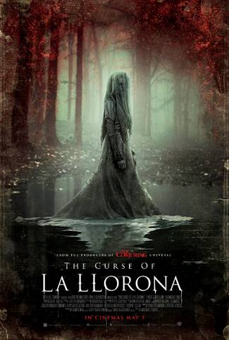 The Curse of La Llorona (horror movie: trailer).
