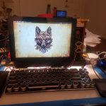 Steampunk laptop, home-brewed to the extreme (maker projects).