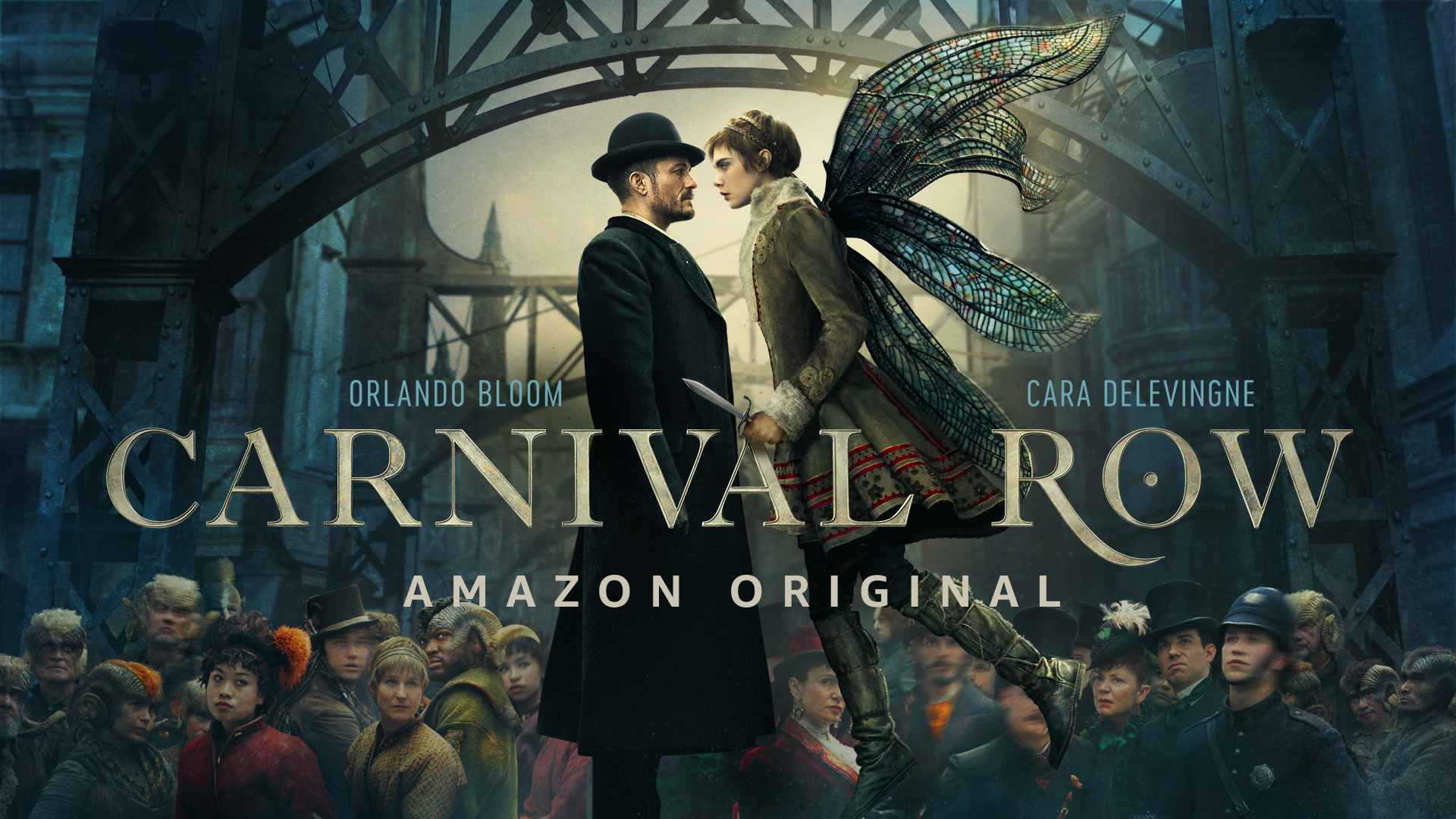 Carnival Row (new trailer: Prime's Victorian steampunk murder mystery).