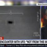 U.S. Navy Flight Commander David Fravor interviewed about engaging a UFO (video).