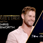When press tours collide! Chris Hemsworth and Tom Holland interview the heck out of each other.