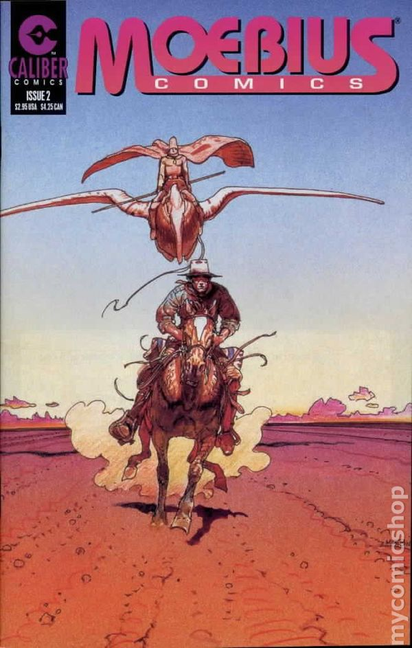 Moebius: the man, the legend (video documentary: comic-book genius).