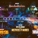 Marvel's phase 4 movies schedule announced.