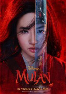 Mulan (fantasy live-action film remake: trailer).