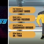 Star Trek Lower Decks (animated comedy Trek trailer).