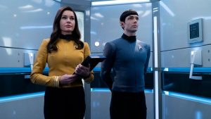 Ever-expanding Trek: two new live-action Star Trek TV spin-offs to beam down (news).