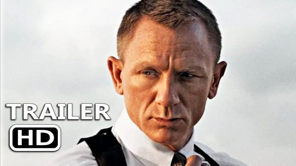 No Time To Die (James Bond movie: new trailer).