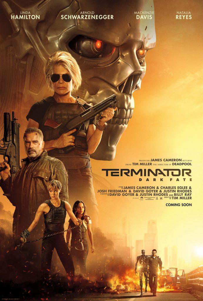 Terminator: Dark Fate (scifi film trailer).
