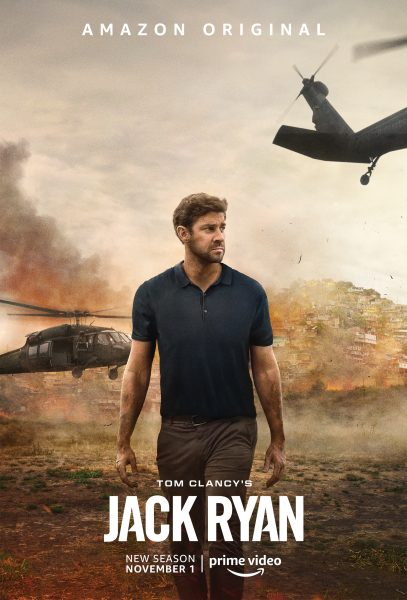 Jack's back: Tom Clancy's Jack Ryan (season 2 spy-fy trailer).