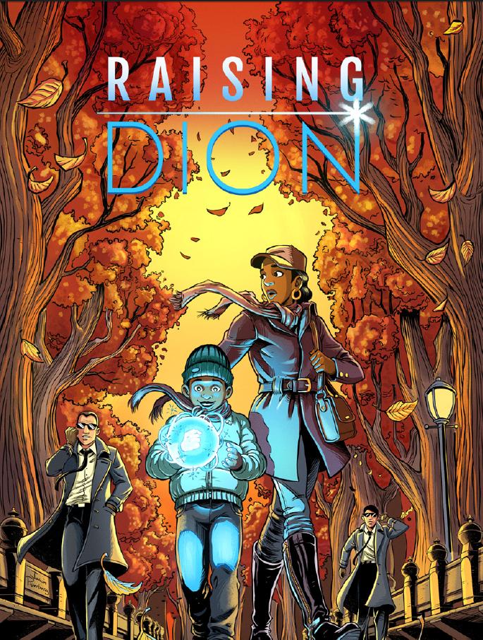 Raising Dion (Netflix superhero conspiracy series: trailer).