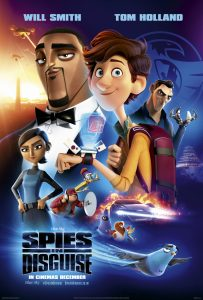 Spies in Disguise (animated spy-fy film: trailer).