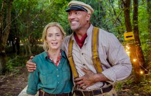 Jungle Cruise (fantasy movie trailer: Indiana Jones meets the The African Queen).