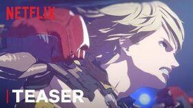 Levius (Netflix anime: trailer).