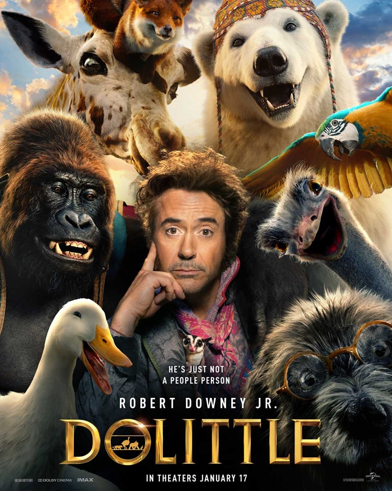 Dolittle (film trailer: from Iron Man and Sherlock Holmes to animal whisperer).