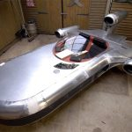 Star Wars Landspeeder – real vehicle build: UK's Mad Modder at it again.
