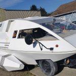 Star Trek shuttle or Ford van? (weird kit mods).