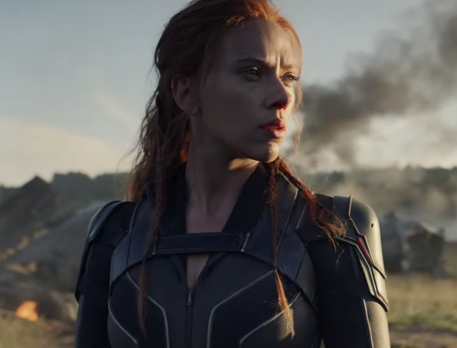 Black Widow (Marvel superhero film: second trailer).