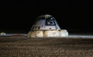 Starliner lands successfully (science news).