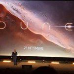 Dune movie logo reveal (news).