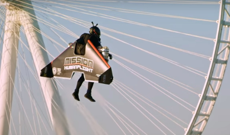 Jetman: made of Iron? (video).