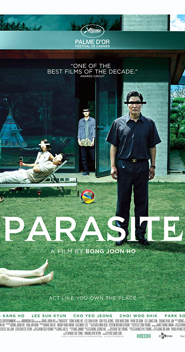 Parasite (weird but brilliant Korean movie: a Mark Kermode review).
