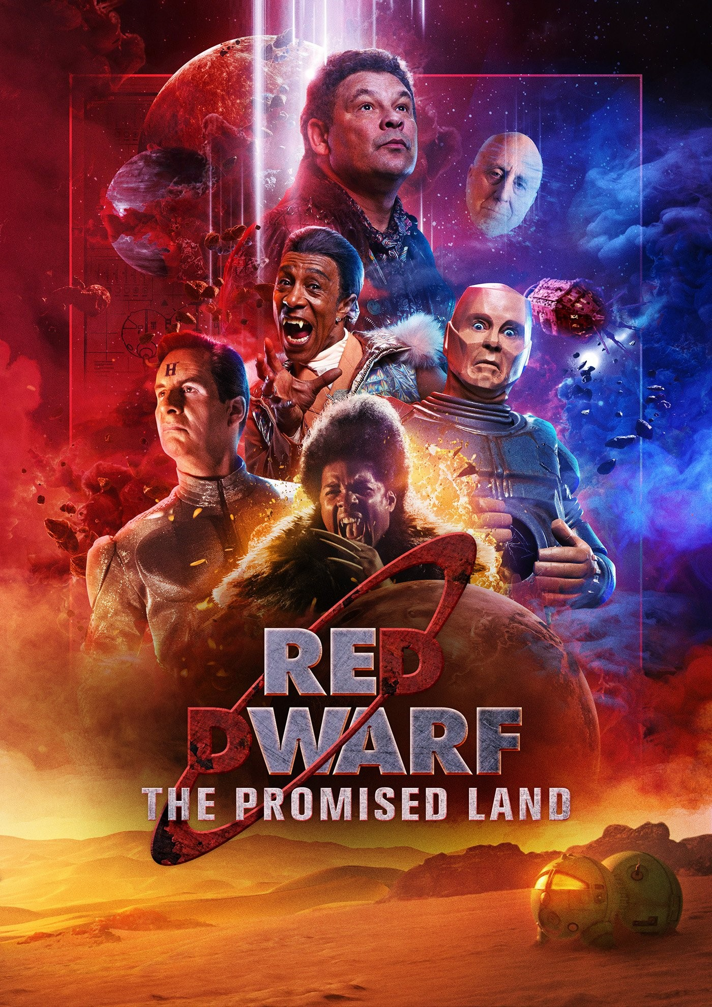 Red_Dwarf_-_The_Promised_Land_logo