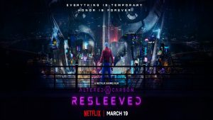 Altered Carbon: Resleeved (Netflix anime: trailer).