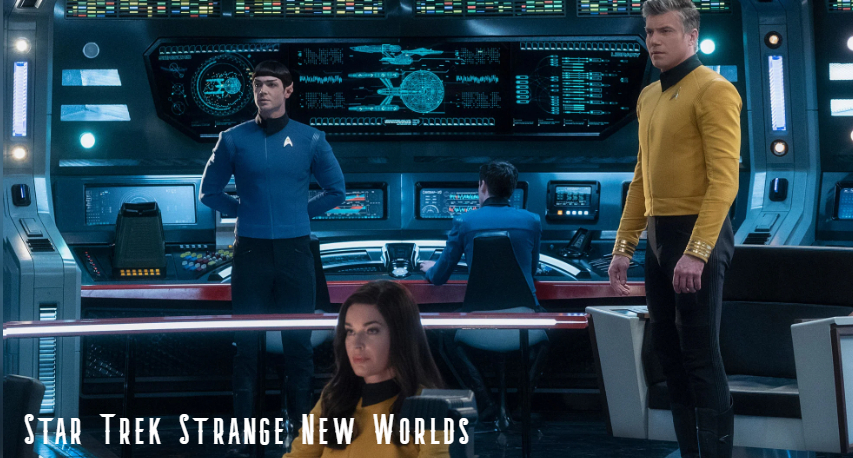 Star Trek Strange New Worlds begins production (news).