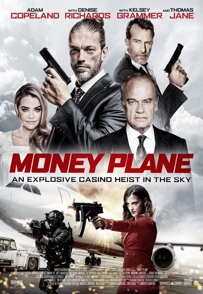 Money Plane (cri-fi movie: trailer).