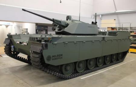 The Tesla of AI robot tanks (science news).