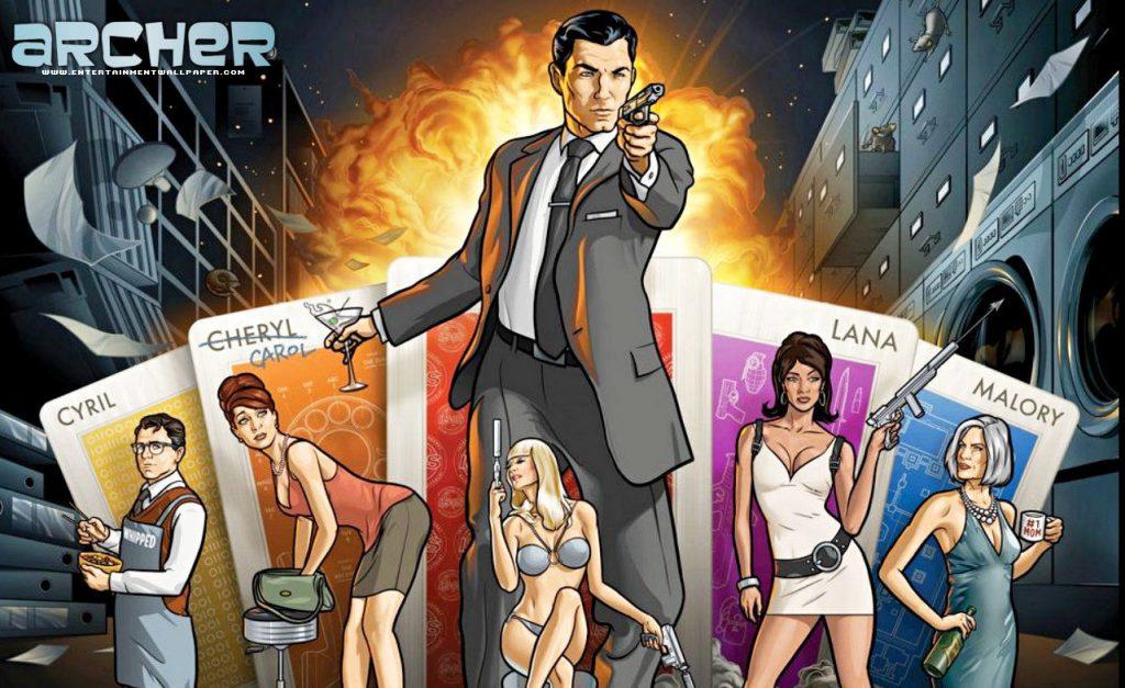 Archer spy-fy TV series