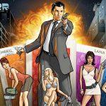 Archer: season 11 (animated comedy spy-fy TV series: trailer).