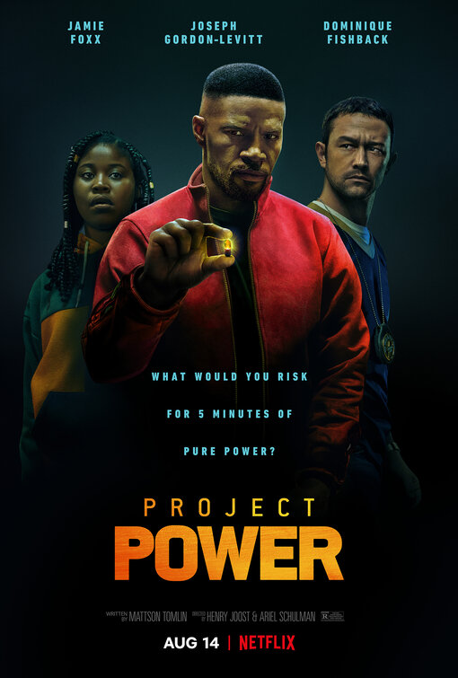 Project Power (superhero film: trailer).
