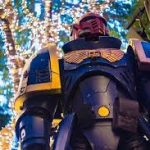Warhammer Ultramarine cosplay gets real (mods).