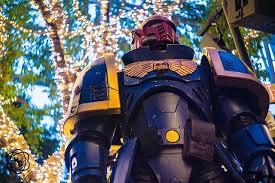 Warhammer Ultramarine cosplay gets real (mods).