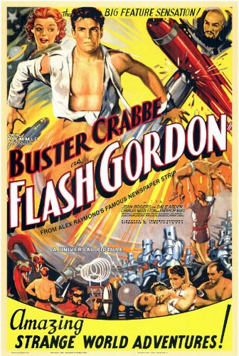 Flash Gordon (full B&W TV series: video).
