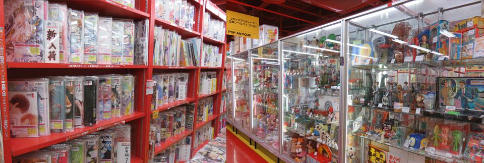 Tokyo's geek heaven: Nakano Broadway (video).