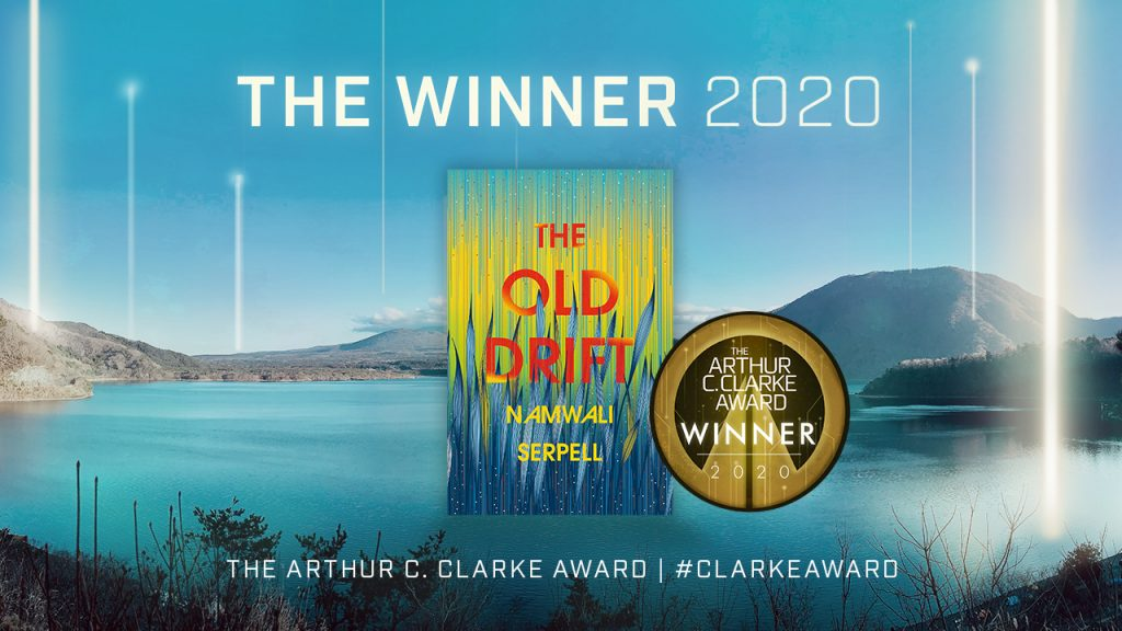Arthur C. Clarke Award winner for 2020 announced: Namwali Serpell (award news).
