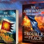 Joe Abercrombie interview and The Trouble With Peace review (video).